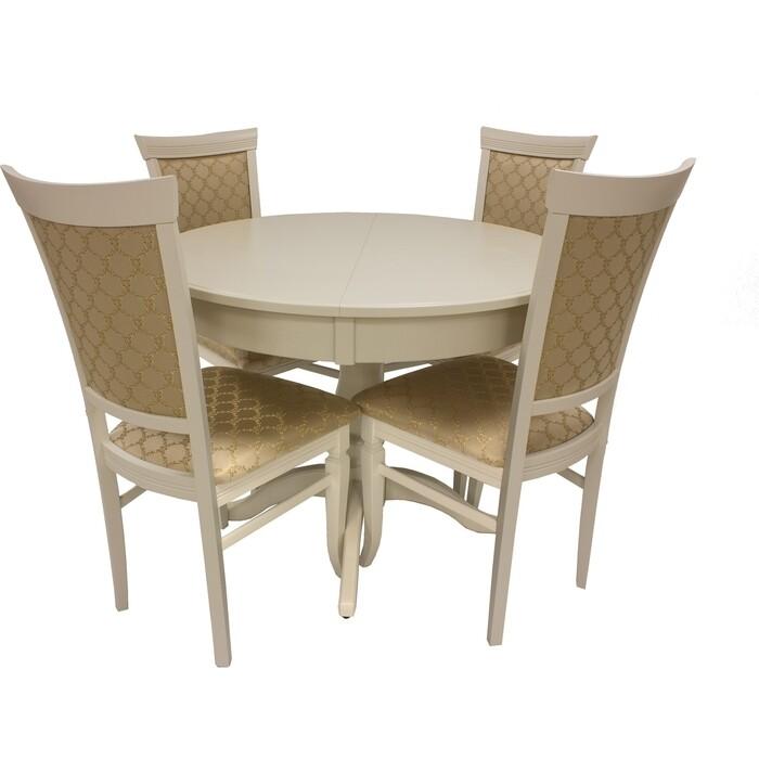 Набор мебели для кухни Leset Мичиган 2Р слоновая кость