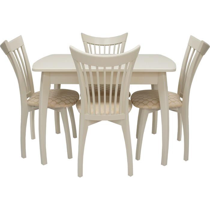 Набор мебели для кухни Leset Шервуд 1Р слоновая кость