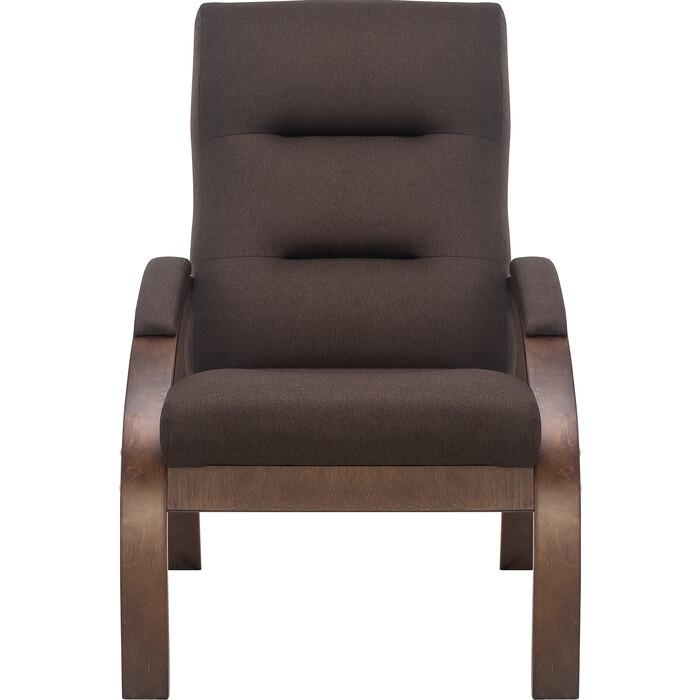Кресло Leset Лион орех текстура/ткань Малмо 28