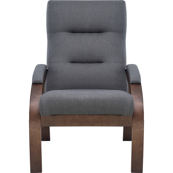 Кресло Leset Лион орех текстура/ткань Малмо 95