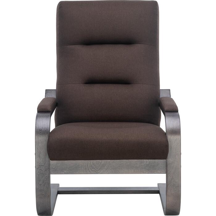 Кресло Leset Оскар венге текстура/ткань Малмо 28