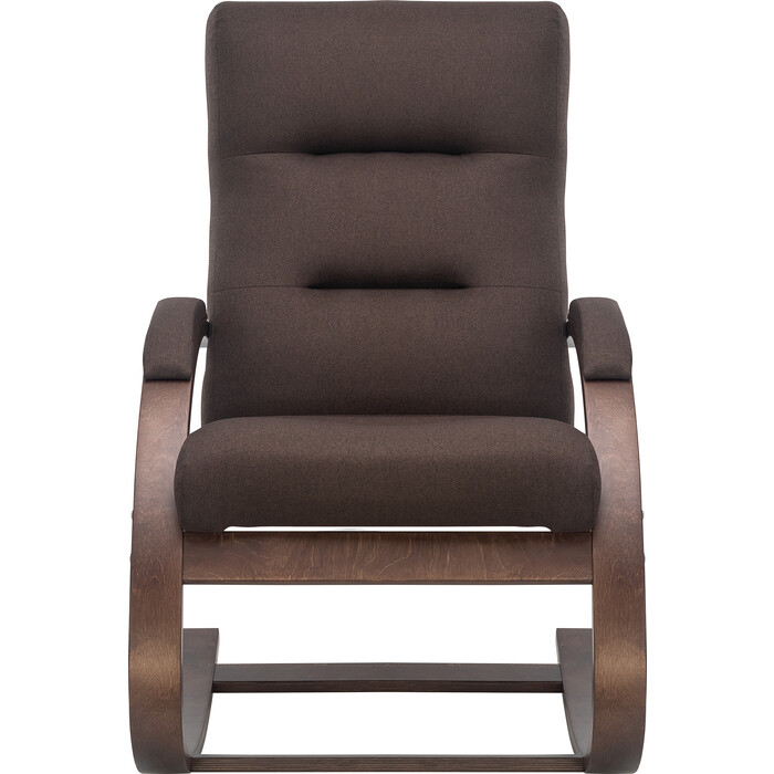 Кресло Leset Милано орех текстура/ткань Малмо 28