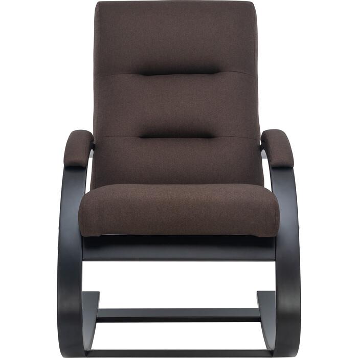 Кресло Leset Милано венге/ткань Малмо 28
