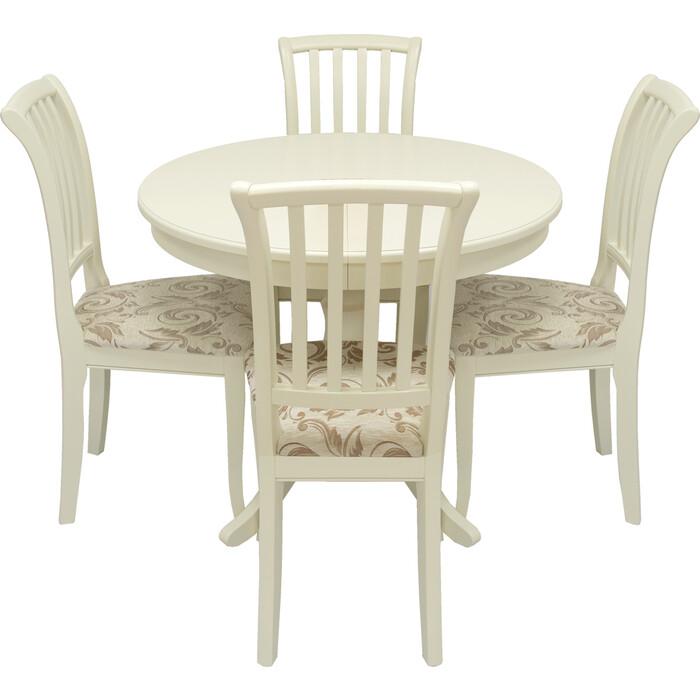 Фото - Набор мебели Leset для кухни Луизиана 1Р слоновая кость для кухни