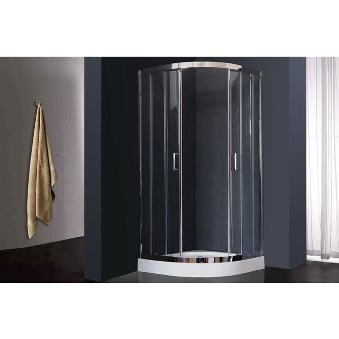 Душевой уголок Royal Bath HKD-T-CH 90х90х185, прозрачное (RB90 HKD-T-CH)