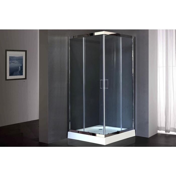 Душевой уголок Royal Bath HPD-T-CH 90х90х185, прозрачное (RB90 HPD-T-CH)