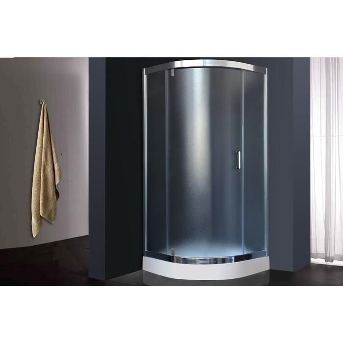 Душевой уголок Royal Bath HKV-C-CH 90x90х185, рифленое (RB HKV90-C-CH)