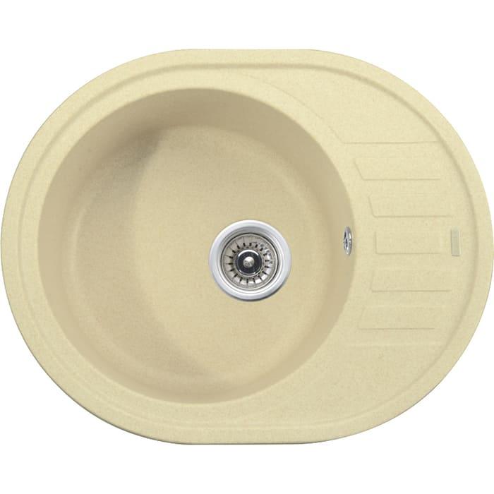 кухонная мойка kaiser kgmo 6250 g grey Кухонная мойка Kaiser Granit KGMO-6250 Jasmine жасмин (KGMO-6250-J)