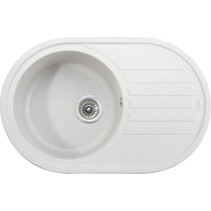 Кухонная мойка Kaiser Granit KGM-7750 White белая (KGM-7750-W)