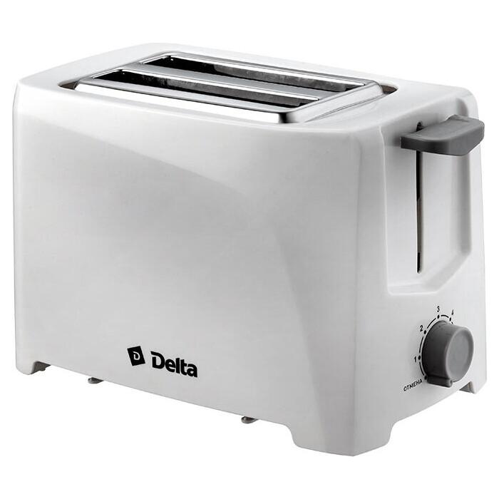Тостер Delta DL-6900 белый
