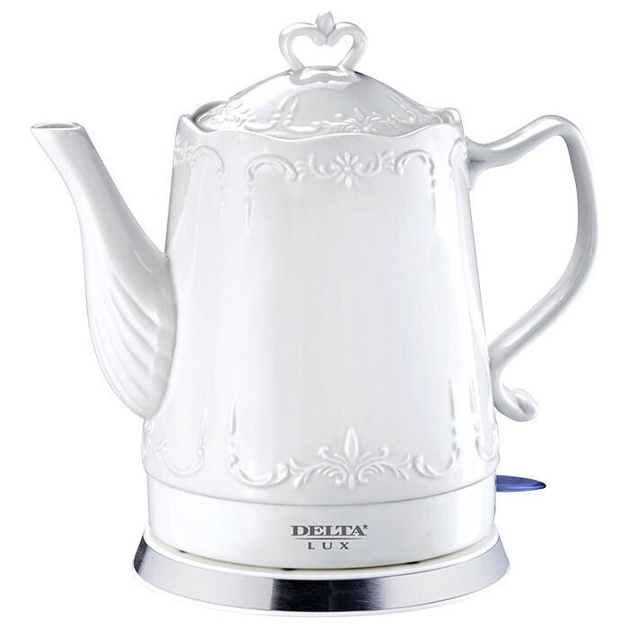 Чайник электрический Delta LUX DL-1236 голдинг уильям избранное романы притча