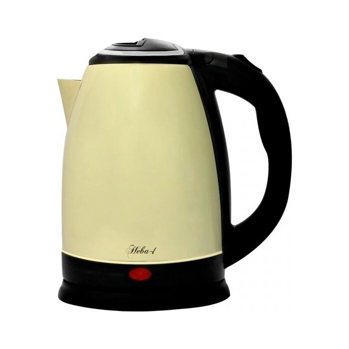 Чайник электрический Великие реки Нева-1 желтый