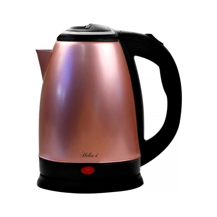Чайник электрический Великие реки Нева-1 розовый чайник электрический великие реки нева 2 1 8л 2000вт белый корпус нержавеющая сталь