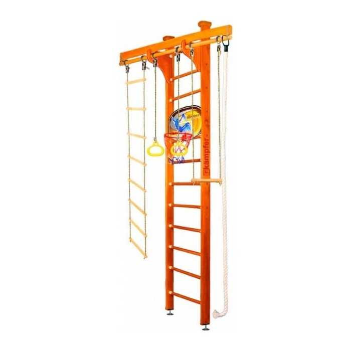 Шведская стенка Kampfer Wooden Ladder Ceiling Basketball Shield №3 Классический Высота 3 м