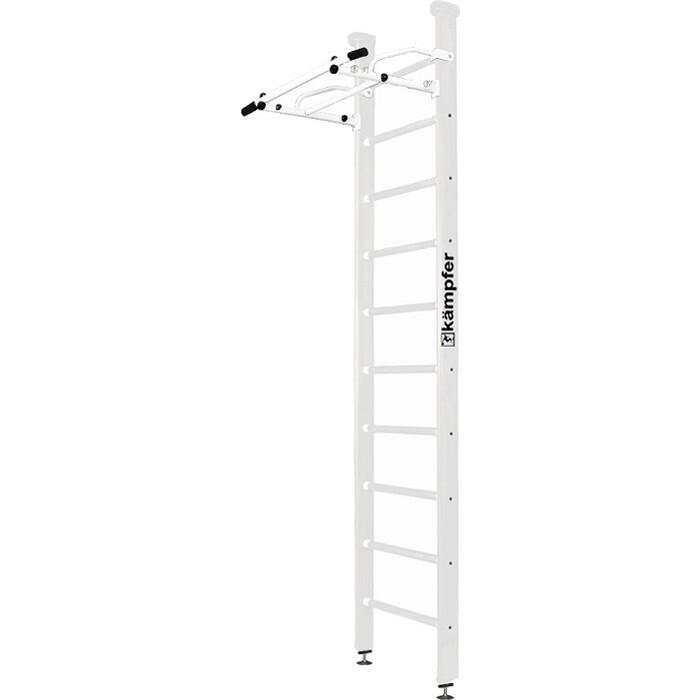 Шведская стенка Kampfer Swedish Ceiling №6 Жемчужный Стандарт белый антик турник детский спортивный комплекс kampfer winner ceiling 6 жемчужный высота 3 м белый турник