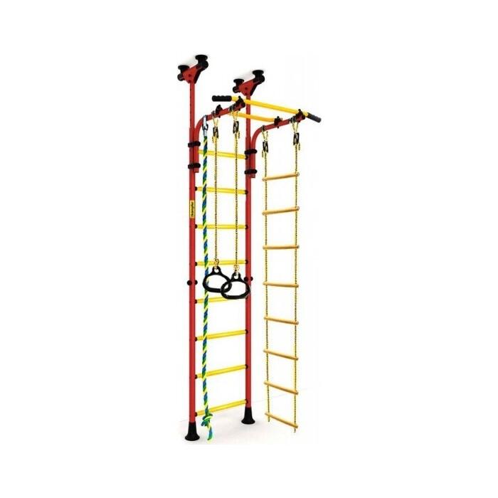 Детский спортивный комплекс Kampfer Strong kid Ceiling (красный/желтый Высота +52 см)