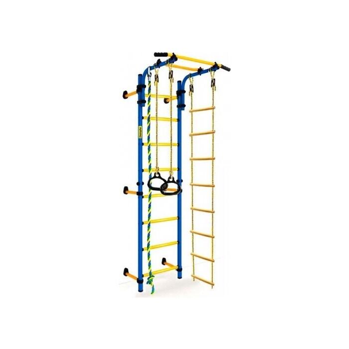 Детский спортивный комплекс Kampfer Strong Kid Wall (синий/желтый Высота +52 см)