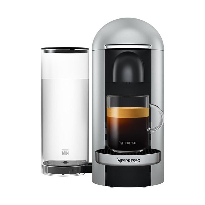 Кофемашина Nespresso GCB2 Vertuo Plus C Silver
