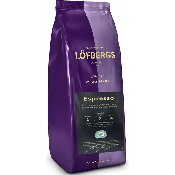 Кофе в зёрнах Lofbergs Espresso 1 кг