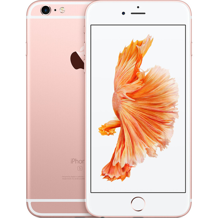 Смартфон Apple iPhone 6s Plus 32Gb Rose Gold восстановленный (FN2Y2RU/A)