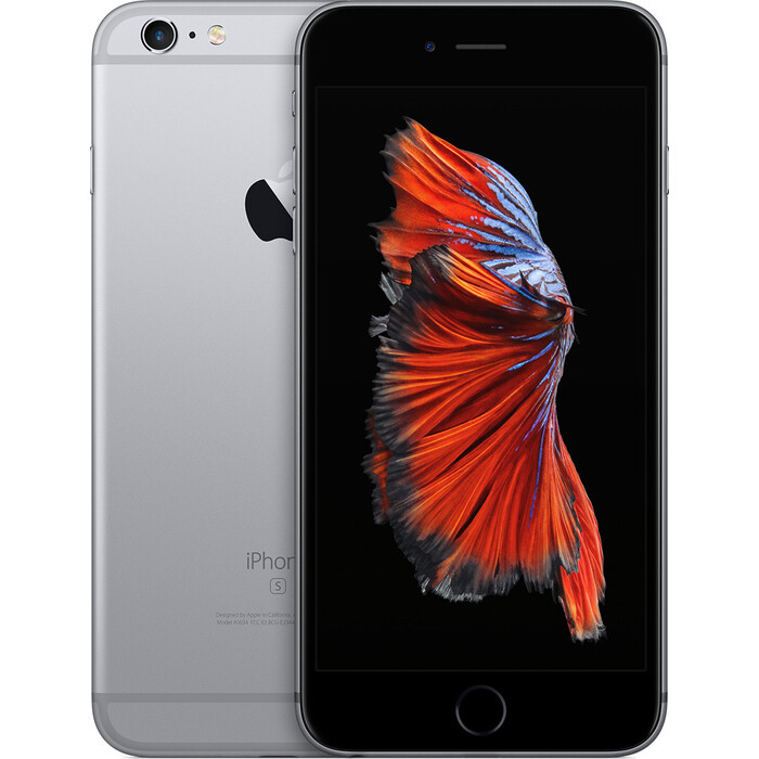 Смартфон Apple iPhone 6s Plus 64Gb Space Gray восстановленный (FKU62RU/A) телефон apple iphone xs 64gb a2097 space gray