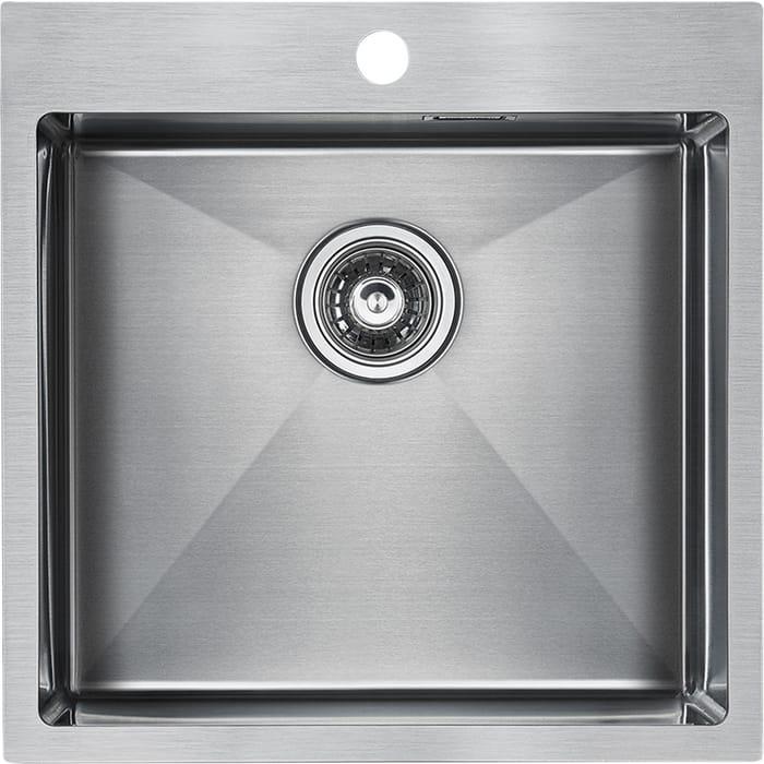 Кухонная мойка Paulmark Velten нержавеющая сталь (PM905151-BS)