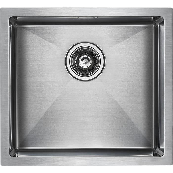 Кухонная мойка Paulmark Weser нержавеющая сталь (PM804844-BS)