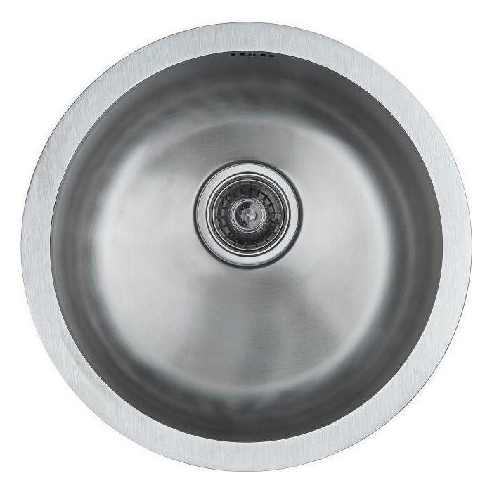 Кухонная мойка Paulmark Werra нержавеющая сталь (PM404646-BS)