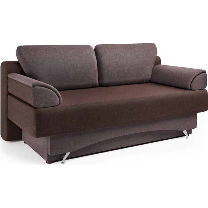 Шарм-Дизайн Диван-кровать Евро 130 шоколад микс