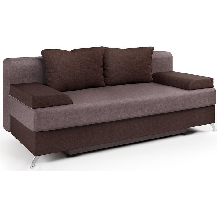 Шарм-Дизайн Диван-кровать Лайт шоколад и латте