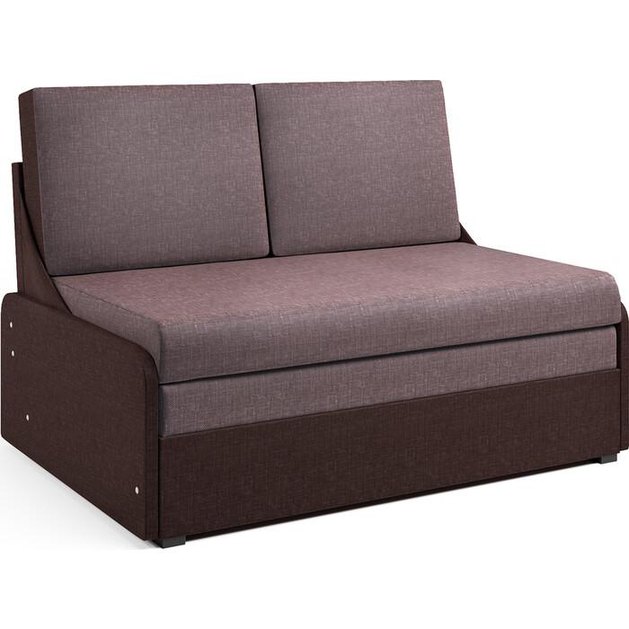 Диван-кровать Шарм-Дизайн Уют-2 шоколад и латте диван прямой шарм дизайн уют латте