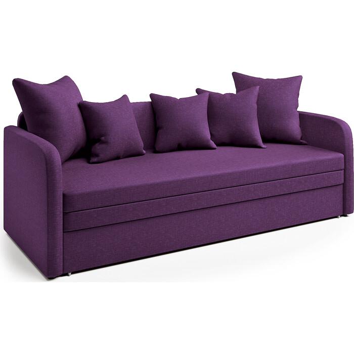 Софа Шарм-Дизайн Трио фиолетовый