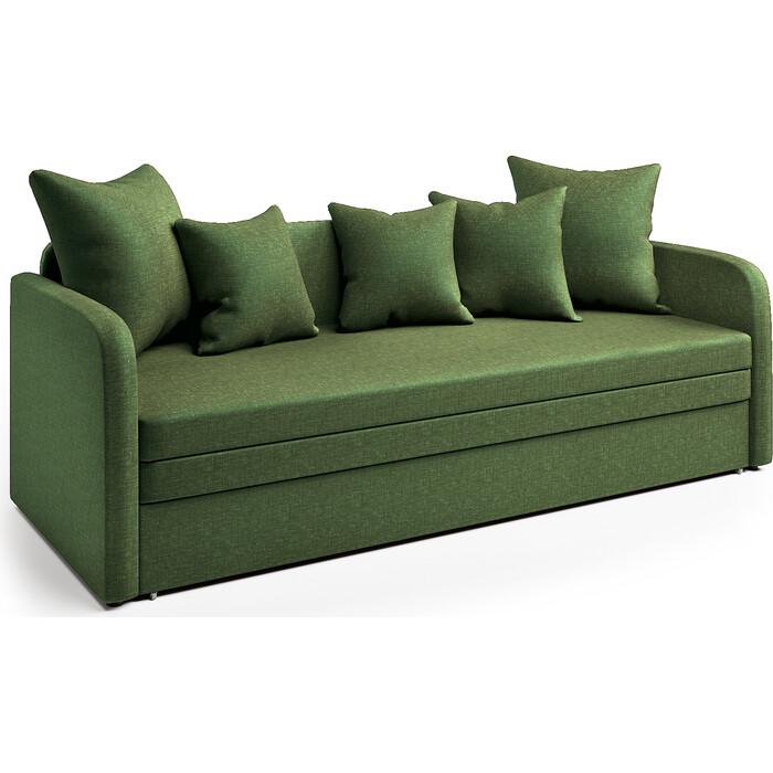 Софа Шарм-Дизайн Трио зеленый