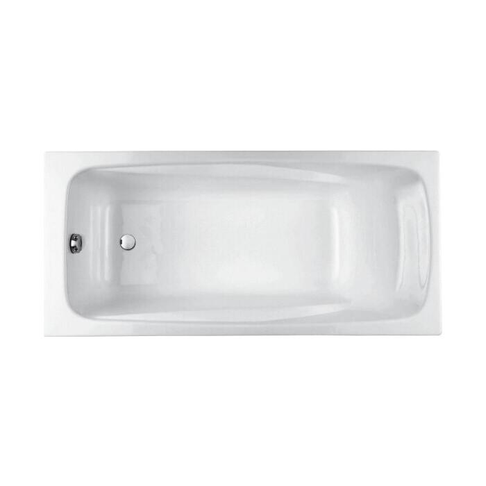 Чугунная ванна Jacob Delafon Repos 180x85 без отверстий для ручек (E2904-S-00)