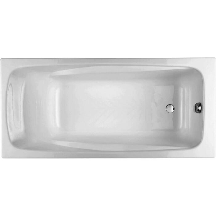 Чугунная ванна Jacob Delafon Repos 170x80 без отверстий для ручек (E2918-S-00)