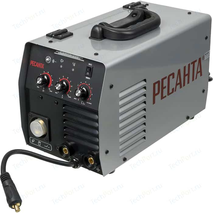 Инверторный сварочный полуавтомат Ресанта САИПА-220
