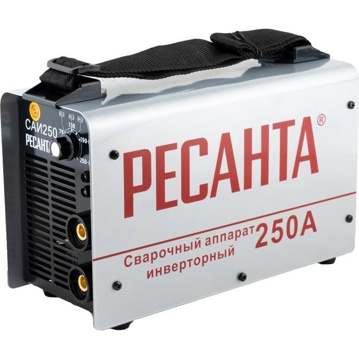 Сварочный инвертор Ресанта САИ 250 в кейсе