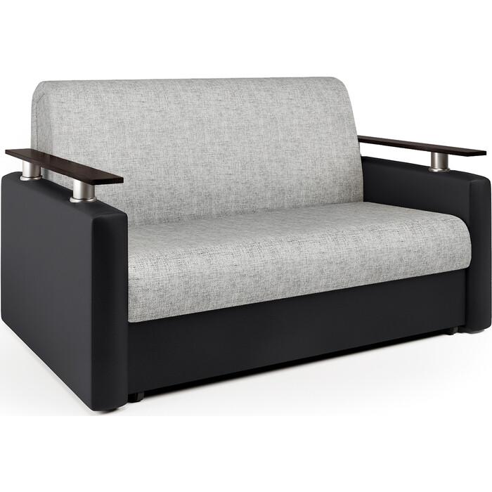 Фото - Диван-кровать Шарм-Дизайн Шарм 140 экокожа черная и серый шенилл диван кровать шарм дизайн коломбо бп 140 шенилл серый и экокожа черный