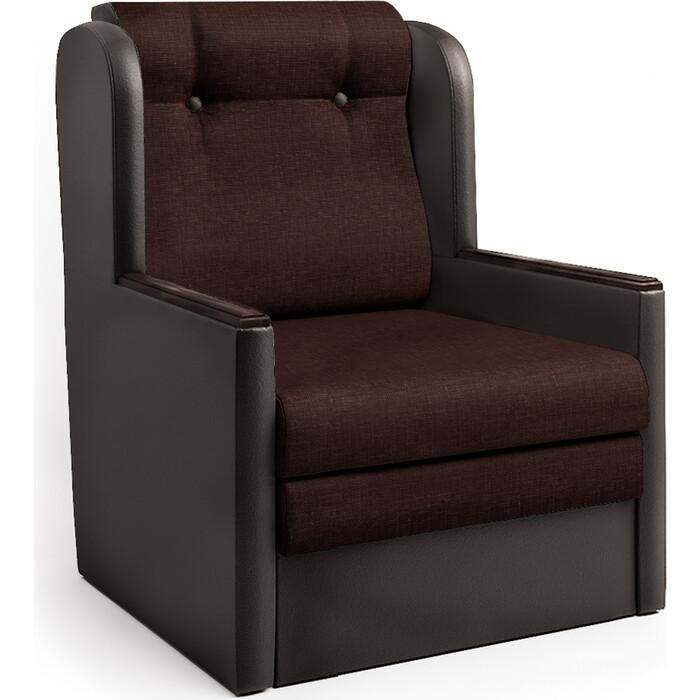 Фото - Шарм-Дизайн Кресло-кровать Классика Д шоколад и рогожка кресло либерти рогожка