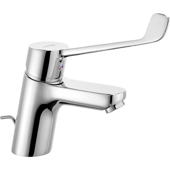 Смеситель для раковины Kludi Pure&Easy Care локтевой, с донным клапаном (372870565)