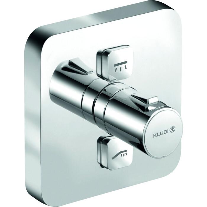 Термостат для ванны Kludi Push внешняя часть нажимной, 88011 (388110538)