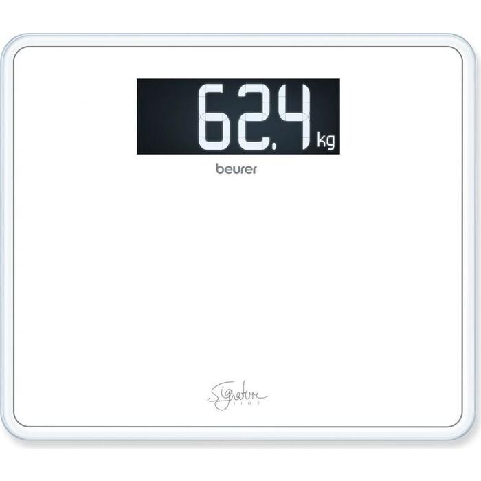 Весы напольные Beurer GS410 Signature Line белый