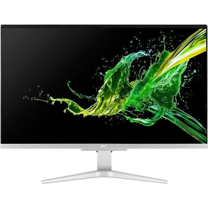 Моноблок Acer Aspire C27-962 silver (Core i3 1005G1/8Gb/1Tb/128Gb SSD/noDVD/MX130 2Gb/Endless OS) (DQ.BDQER.008)