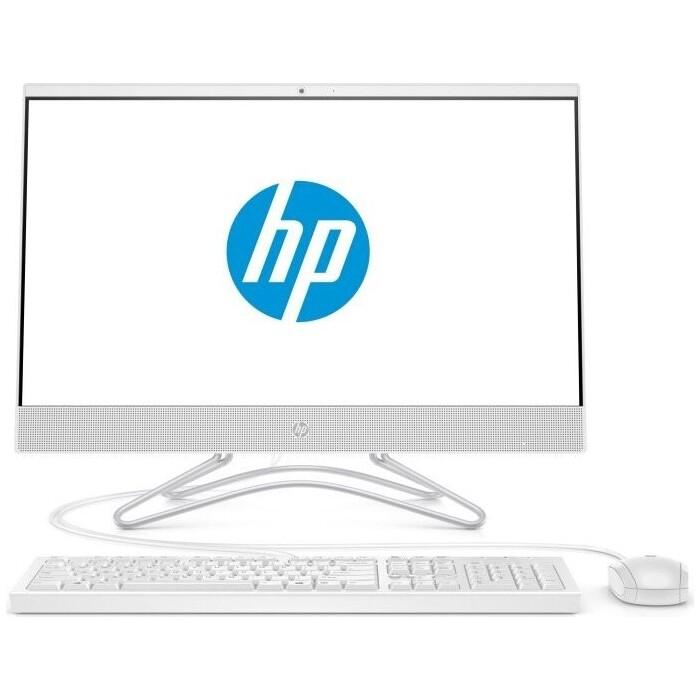 Моноблок HP 22-c0163ur/s white (Core i5 9400T/8Gb/256Gb SSD/noDVD/VGA int/Dos) (9CN87EA)
