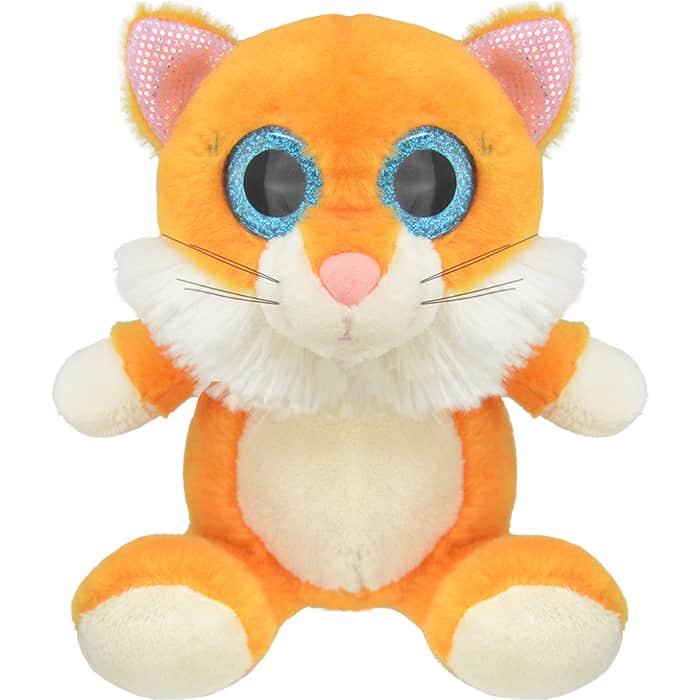 Мягкая игрушка Wild Planet Котенок, 15 см, (K7845-PT)