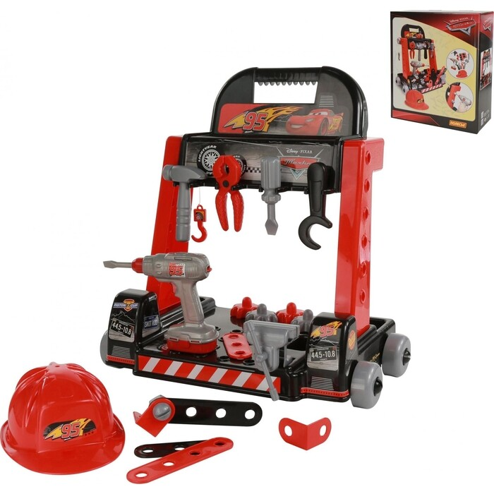Набор Palau Toys Механик-мини Disney/Pixar Тачки (в коробке), (69887_PLS)