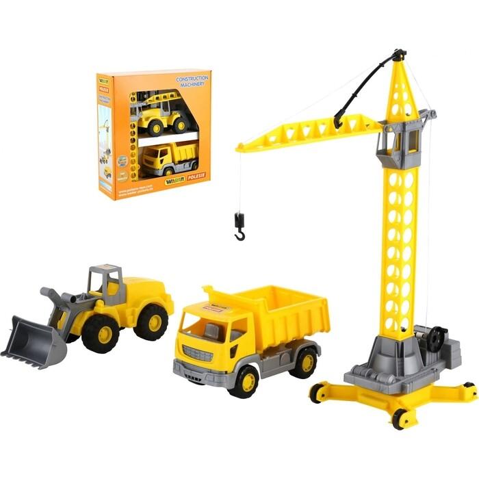 Набор строительной техники Wader Агат (в коробке), (57150_PLS)