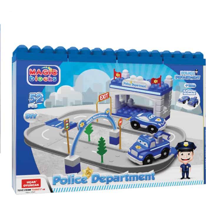 Игровой Набор Terides Полицейский участок, 52 предмета, (Т6-095)