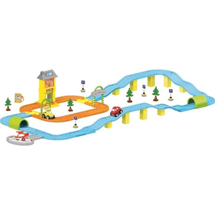 Игровой Набор Dolu дорога с машинками, (DL_5155)