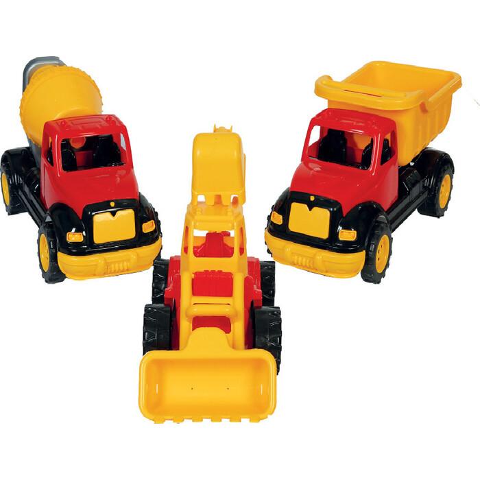 Набор Terides из 3-х строительных машин 30 см, (Т8-006)